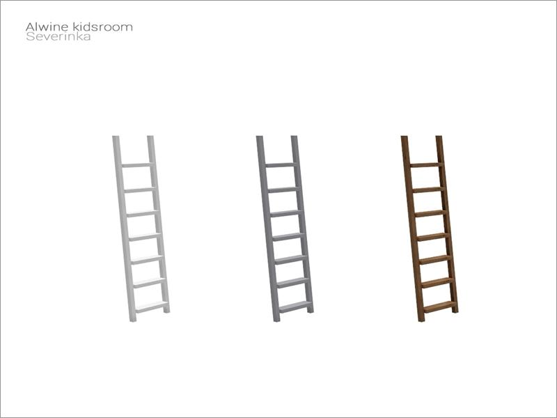 Severinka S Alwine Kidsroom Deco Bed Ladder