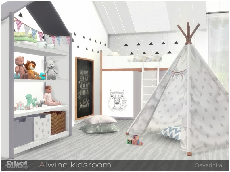 Sims  Cc Kids Room Sets