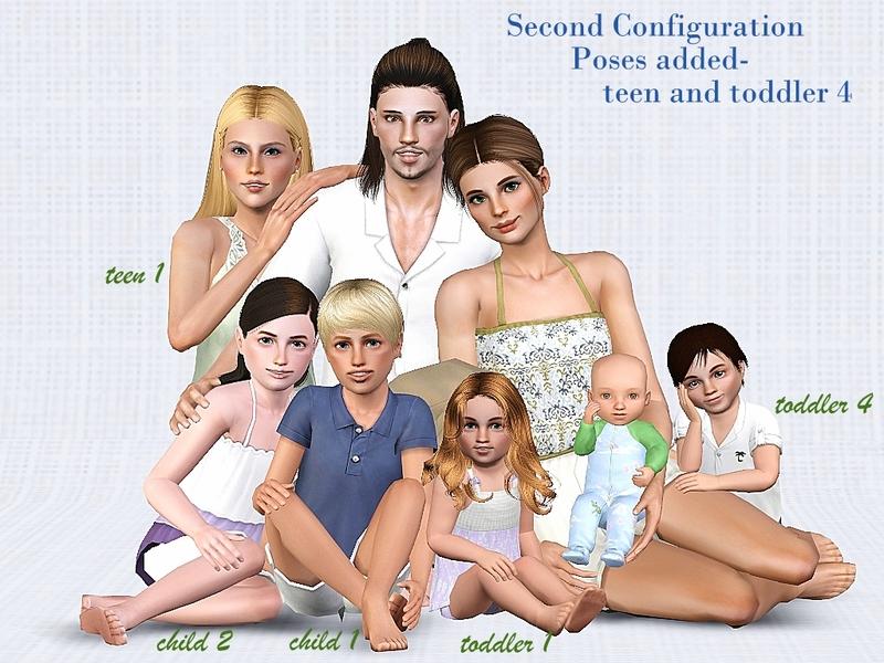 jessesue's Family Portrait - Family Set 6