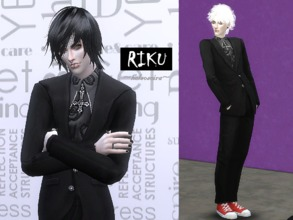 Sims 4 Male Clothing - 'gothic'