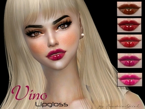 Sims 4 — Vino Lipgloss by Baarbiie-GiirL — - this lipgloss works with ALL Skins - this set have 10 colors - looks