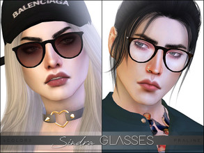 Sims 4 Female Glasses