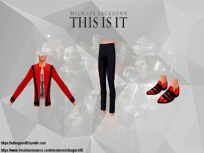 Sims 4 — Thriller This Is It shoes by xdbogoss95 — It's close to midnight and something evil's lurking in the dark You