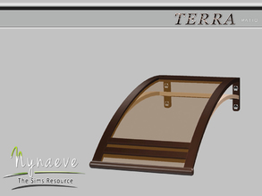Sims 3 — Terra Awning by NynaeveDesign — Terra Patio - Awning Located in: Decor - Miscellaneous Price: 82 Tiles: 1x1