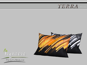 Sims 3 — Terra Pillow by NynaeveDesign — Terra Patio - Pillow Located in: Decor - Rugs Price: 82 Tiles: 1x1 Re-colorable:
