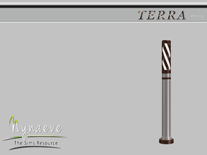 Sims 3 — Terra Patio Lamp by NynaeveDesign — Terra Patio - Lamp Located in: Lighting - Outdoor Lights Price: 82 Tiles: