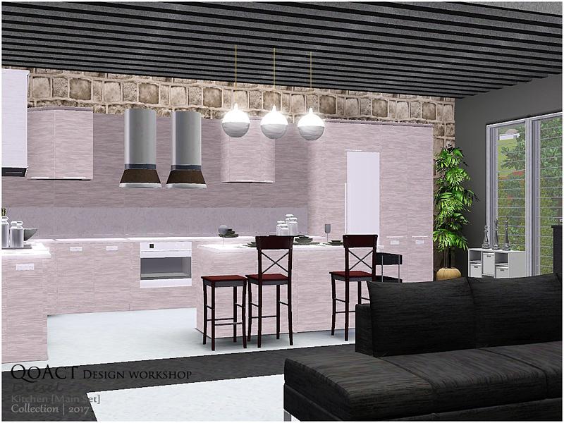 Qoact 39 s diesel kitchen main set for Interior design lighting resources