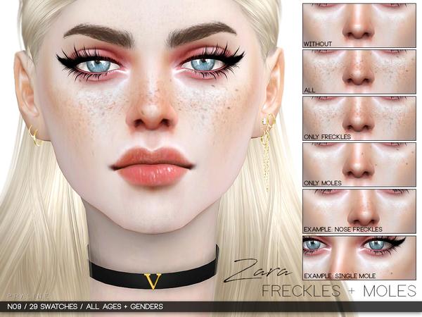 Zara Freckles + Moles N09