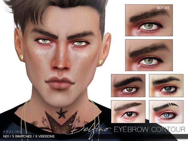 Delfino Eyebrow Contour N01