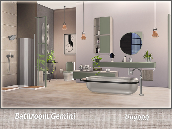 Gemini Tiles Bathroom