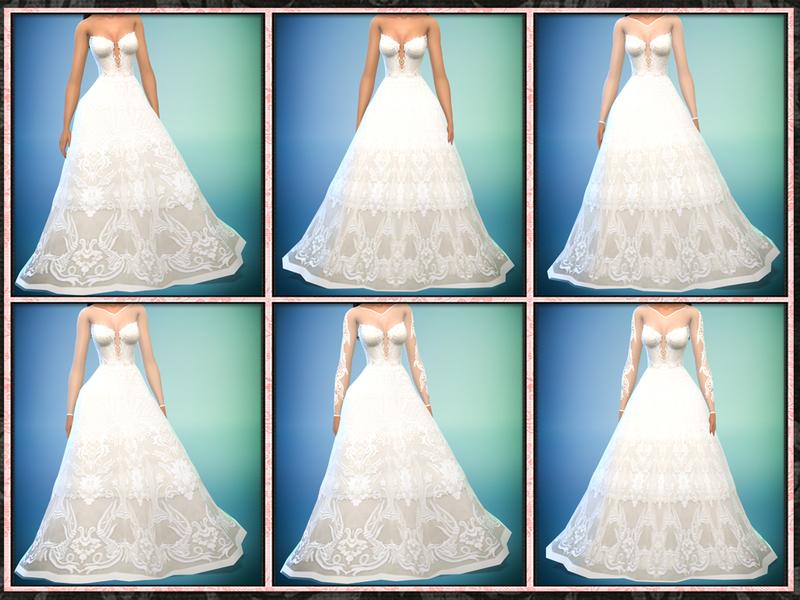 Five5Cats\' Francesca Wedding Gown