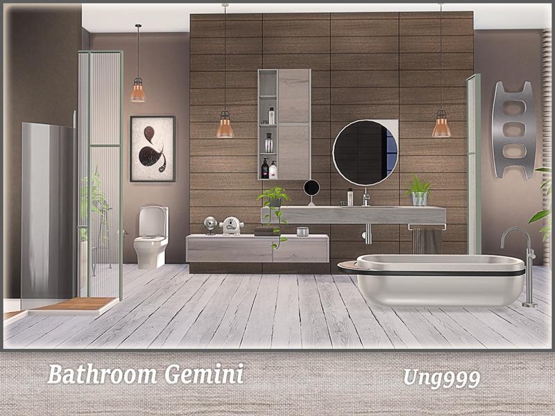 Ung999 S Bathroom Gemini