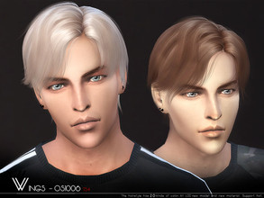 Wingssimss Sims 4 Male Hairstyles