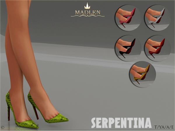 Madlen Serpentina Shoes