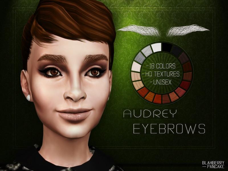 Blahberry Pancakes Audrey Hepburn Eyebrows