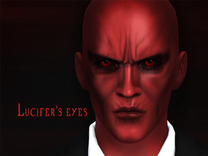 Sims 4 —  by KatVerseCC — Lucifer Morningstar Devil form eyes for your sims! - Toddler - elder - For males and females -