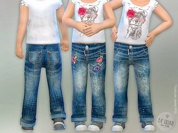Toddler Jeans P02