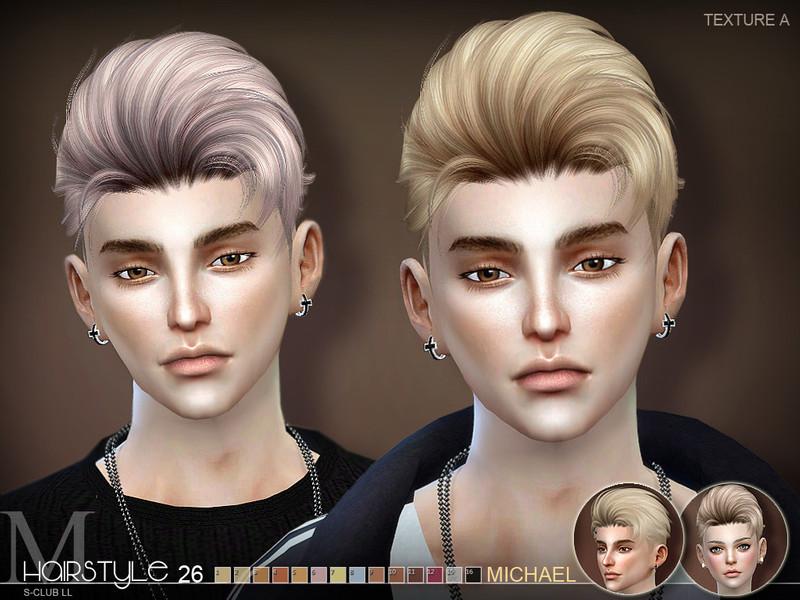 S-Club's sclub ts4 hair Michael n26