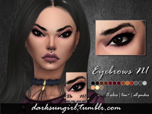 Eyebrows N1 N2