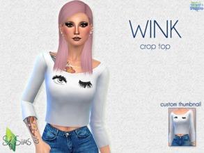 4c65158a0cad Wink Crop Top - SF Sims - Movie.