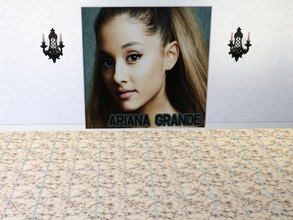 Sims 3 — Ariana Grande Poster 1 by elisaeli1 — Ariana Grande Poster only Arianators