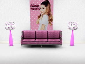 Sims 3 — Ariana Grande Poster 2 by elisaeli1 — Only Arianators