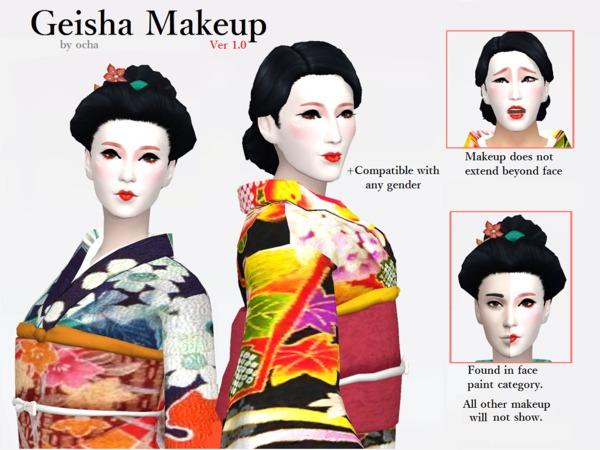 Geisha Makeup Ver 1.0