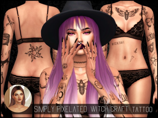 SimplyPixelated   Witch Craft