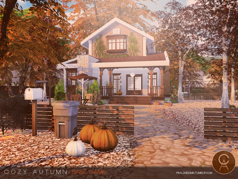 Pralinesims' Cozy Autumn