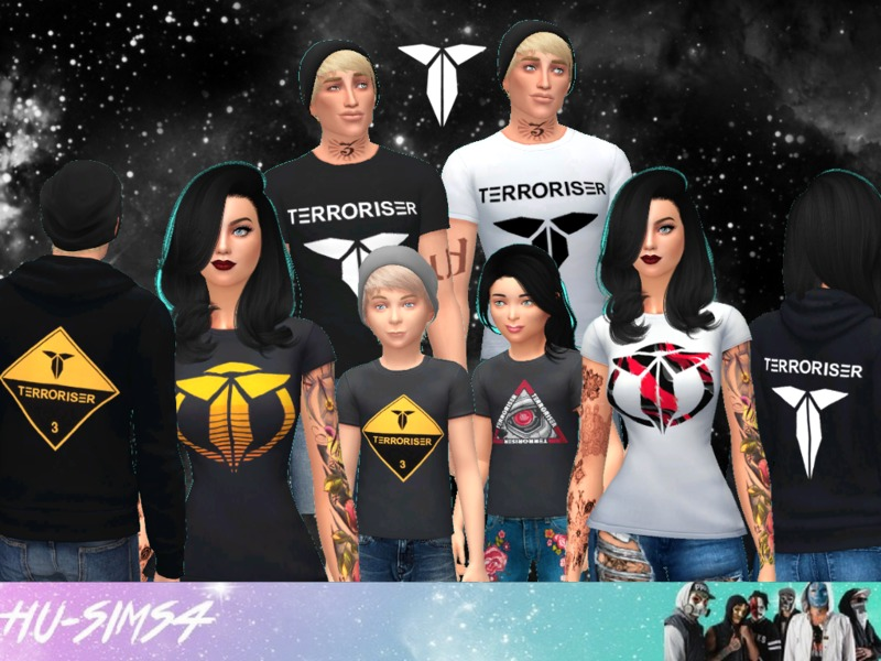 hu-sims4's The Gaming Terroriser Merch