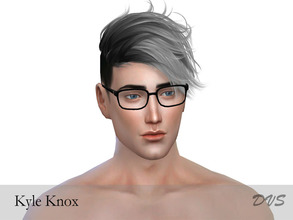 Sims 4 — Kyle Knox by DeVinnS — No sliders used Please make sure you install all necessary cc to make him look like in