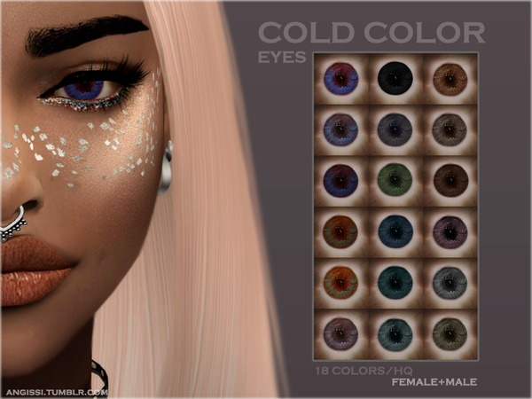 EYES   COLD COLOR