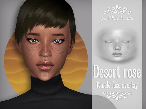 Desert Rose   face overlay