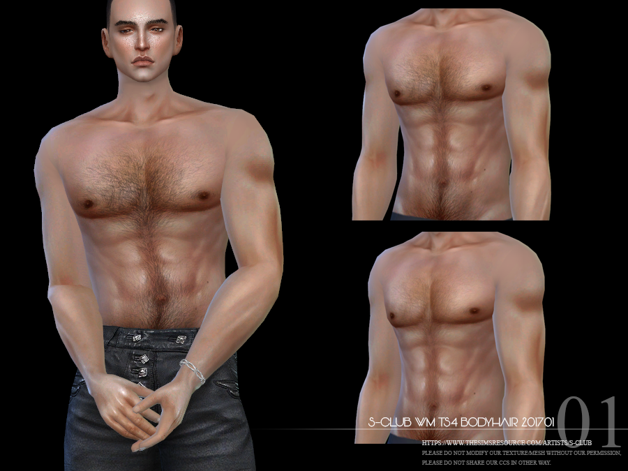 S Club Wm Ts4 Bodyhair 201701