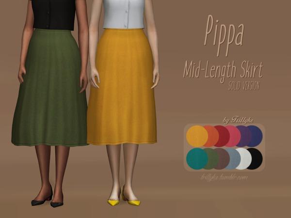 Trillyke   Pippa Mid Length Skirt