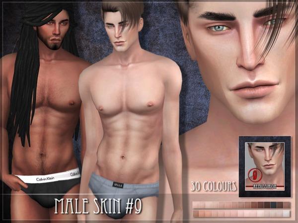 Male skin 09