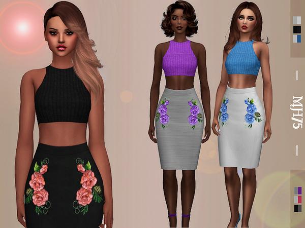 S4 Karima Outfit [Top/Skirt]