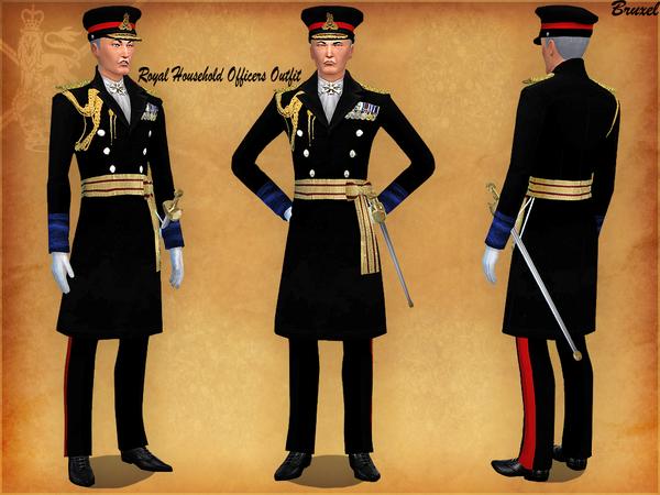 Bruxel   Royal Household Uniform
