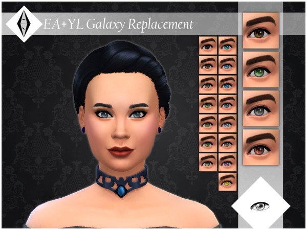 EA+YL Galaxy Replacement Eyes