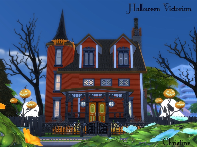 Cm_11778's Halloween Victorian House DV