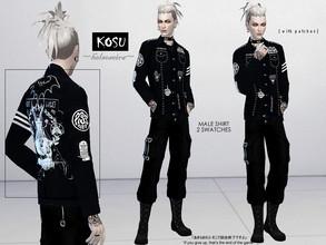 Sims 4 Male Clothing - 'vampire'
