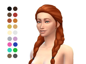 Spa Day Sims  Hair