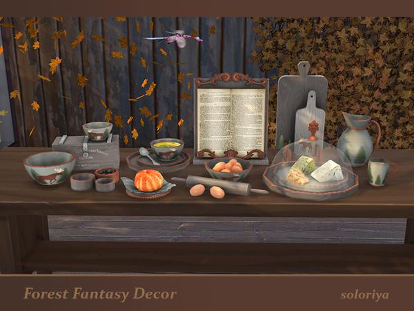 Forest Fantasy Decor set