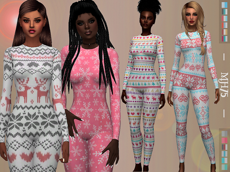 -Some cute onesies with many different patterns -13 versions
