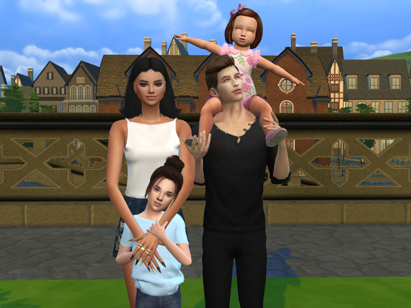 Meanwhile Simming's Family Photo Posepack