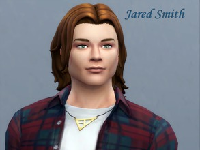 Sims 4 —  Jared Smith by Sims_House — Jared Smith The traits of Jared's character are a computer genius, capable pupil,