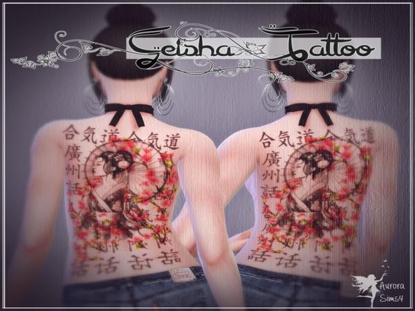 Geisha Tattoo   Aurora