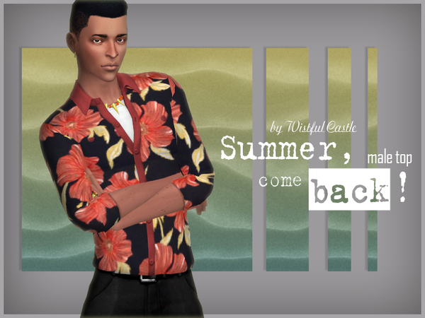 Summer, come back!   male top