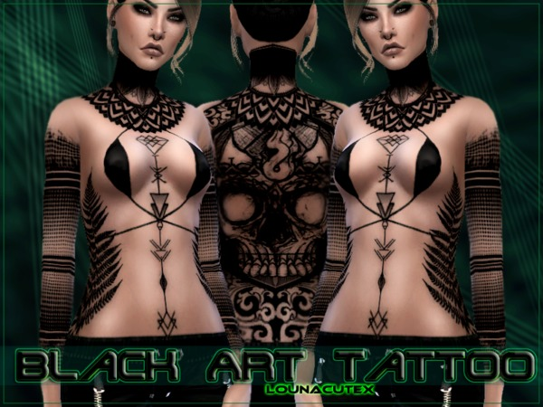 Black Art Tattoo   Lounacutex.