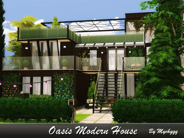 Oasis Modern House